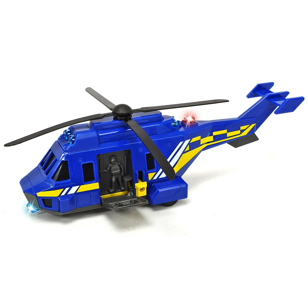 Jucarie Dickie Toys Elicopter De Politie Special Forces Helicopter Unit 91 Hbn S203714009038 Bekidro