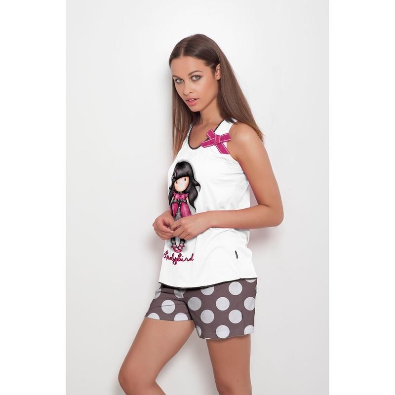 Pijama fete Santoro Gorjuss - Ladybird, scurte
