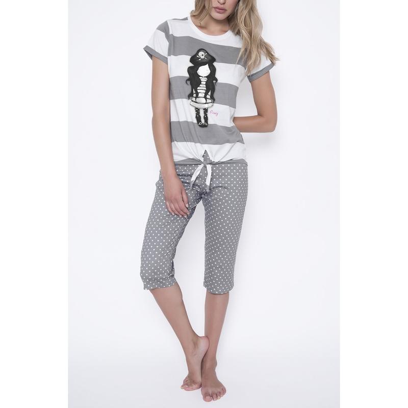 Pijama fete Santoro Gorjuss - Piracy, scurte imagine