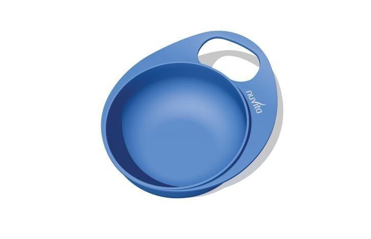 Nuvita Easy Eating Farfurie adanca - set 2 buc 8431 - Albastru imagine