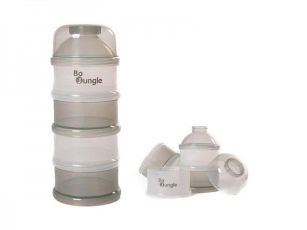 Containere gri lapte praf BO Jungle cu 4 compartimente imagine
