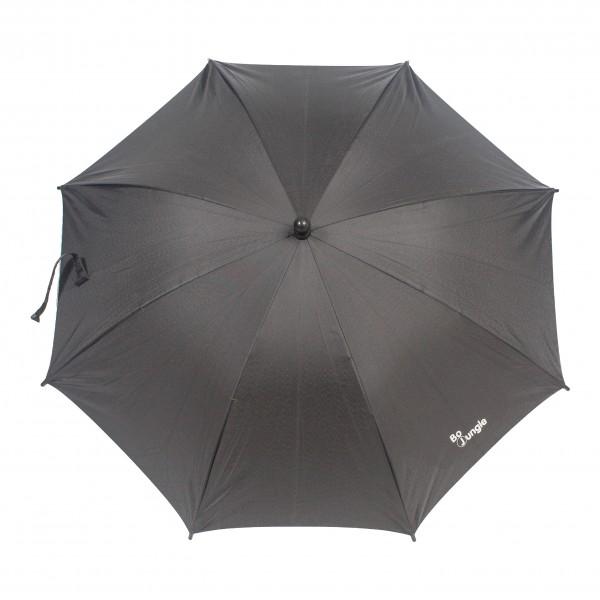 Umbrela pentru carucior copii Bo Jungle Neagra cu factor protectie UV si prindere universala imagine