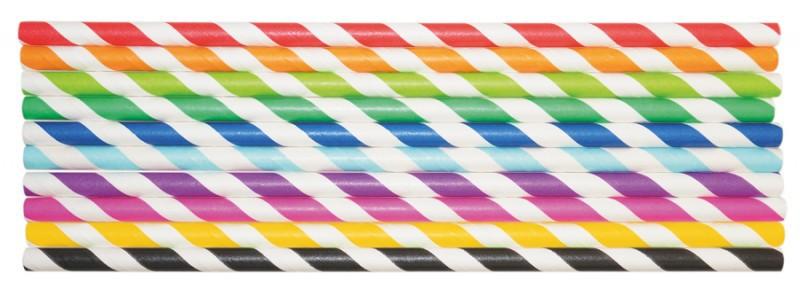 Set 50 paie din carton colorat pentru creatie - Playbox imagine