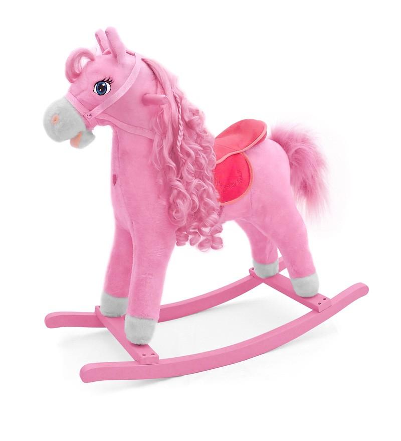 Calut Balansoar cu sunete si miscare Princess Pink imagine
