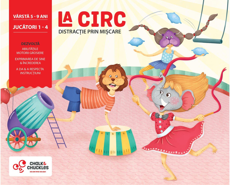 Joc interactiv - La circ imagine