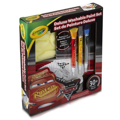 Set Deluxe pentru Pictura cu Pensule Cars 3