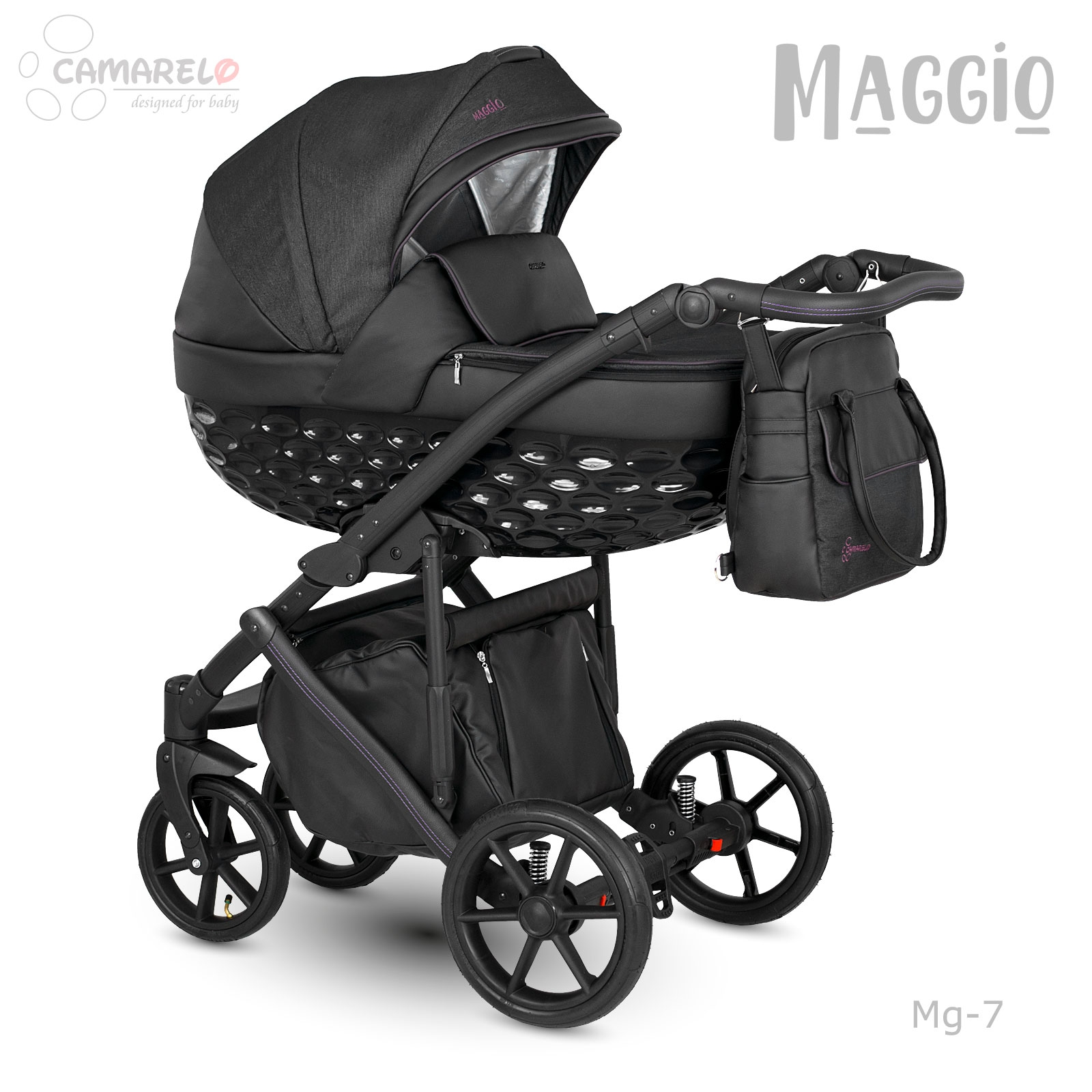 Carucior copii 2 in 1 Maggio Camarelo Mg-7 imagine