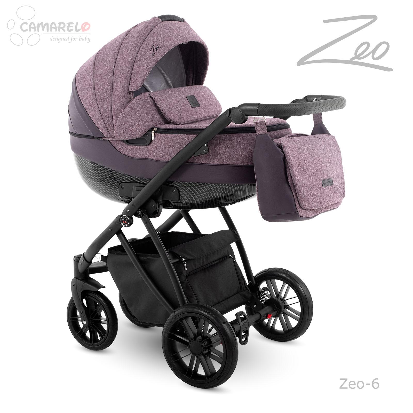 Carucior copii 3 in 1 Zeo Camarelo zeo-6 imagine