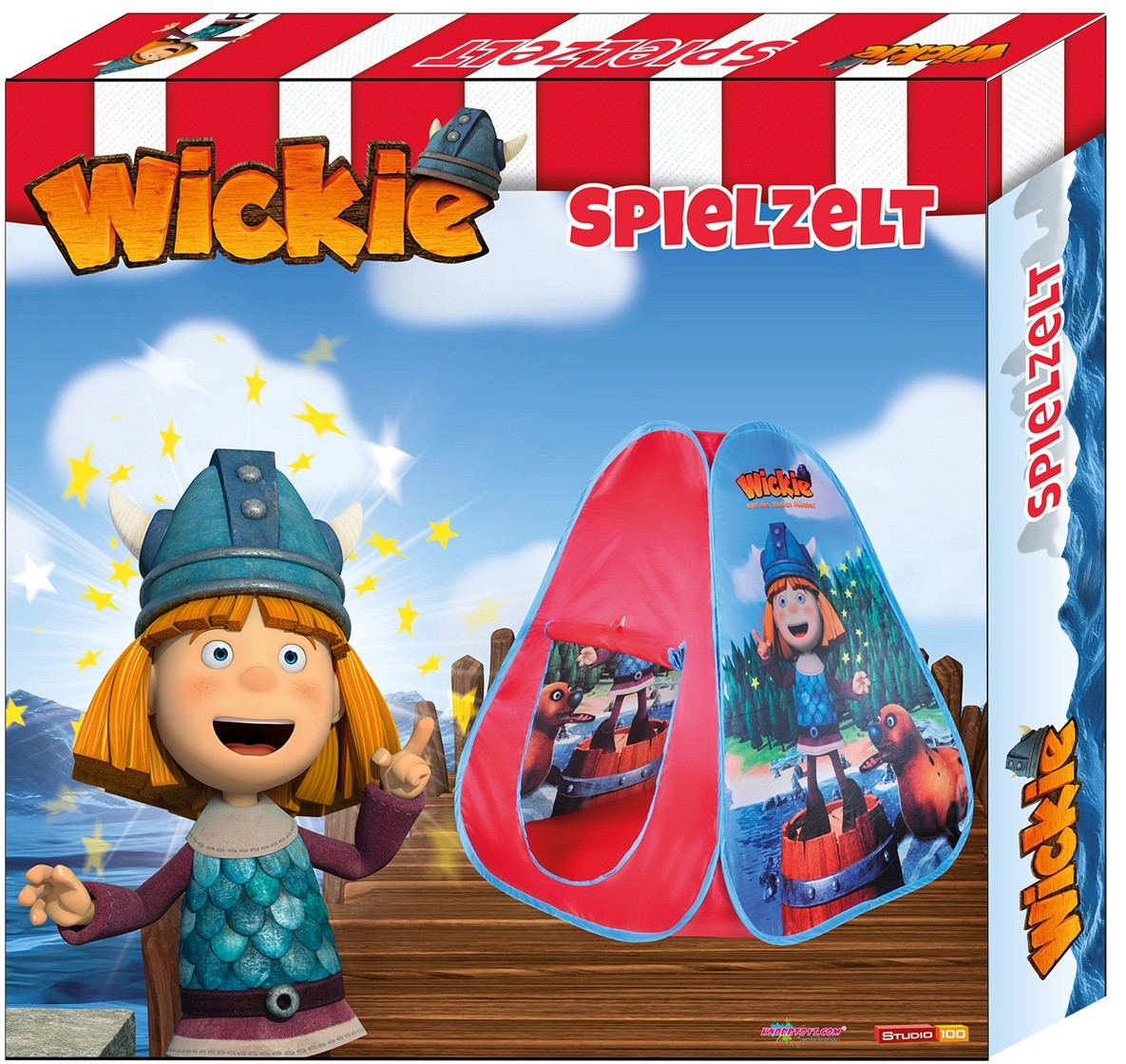 Cort De Joaca Pentru Copii Wickie Pop Up