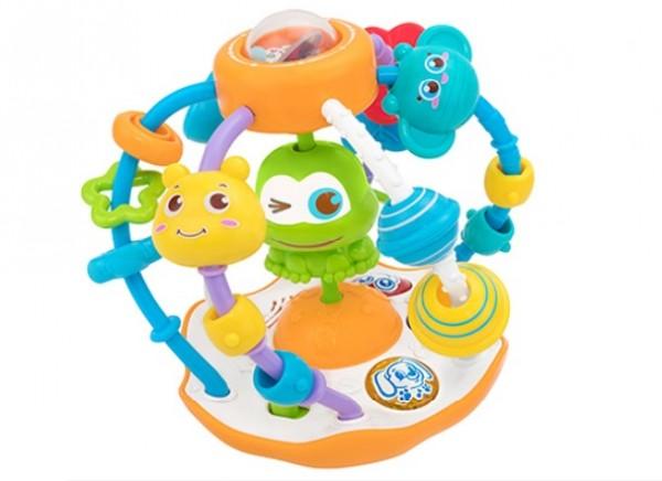Bila cu activitati Globo pentru copii multicolor cu lumini si sunete