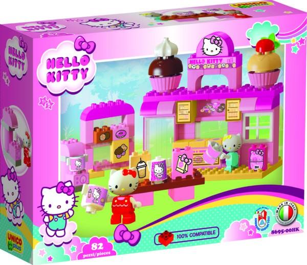 Cofetarie Hello Kitty Unico 82 piese imagine