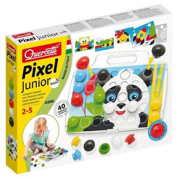 Joc Quercetti Pixel Junior Basic 40 piese