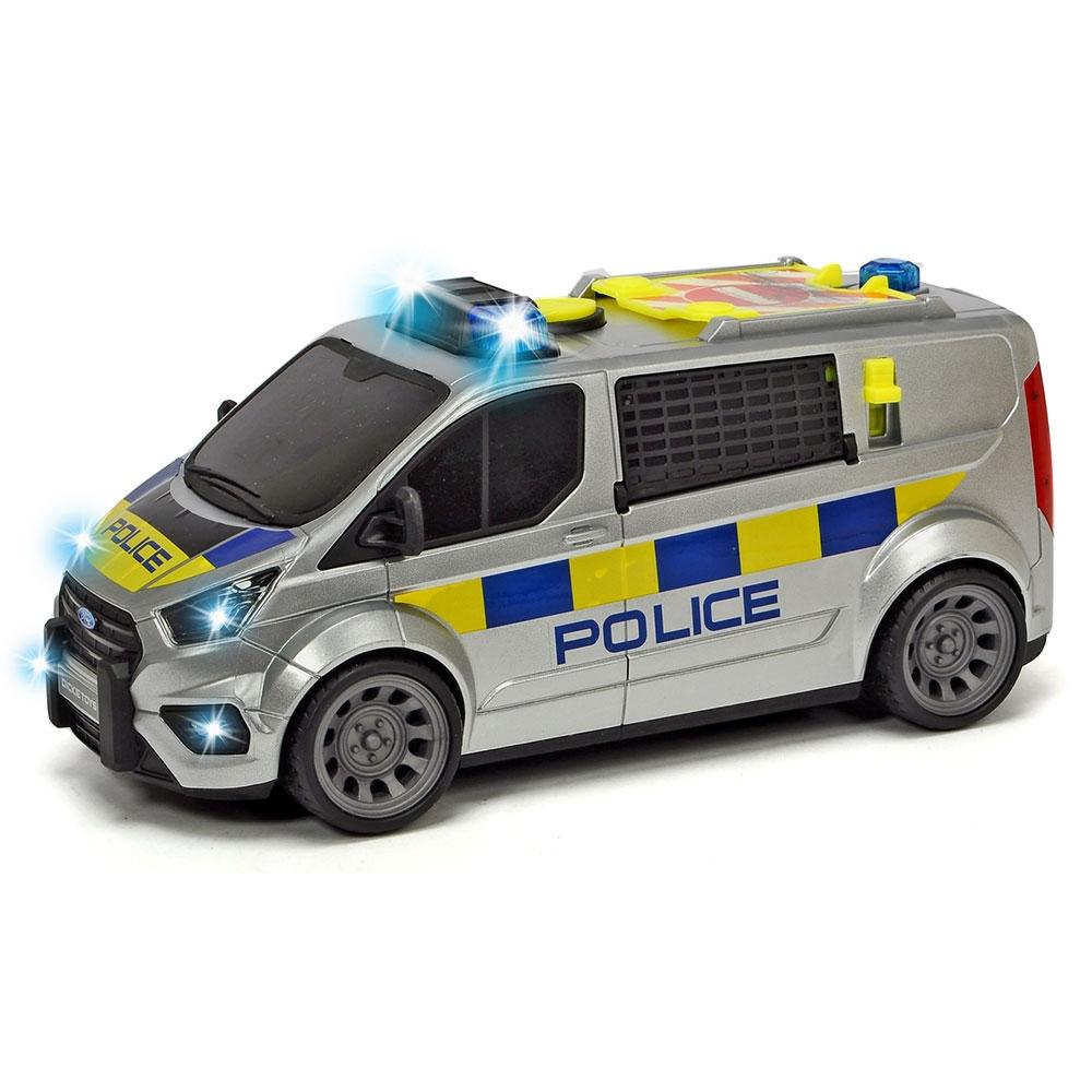 Masina de politie Dickie Toys Ford Transit