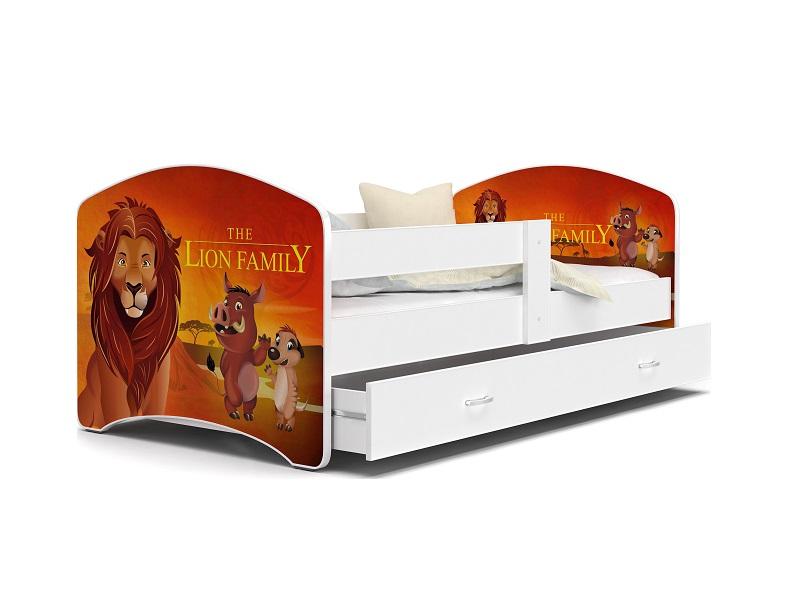 Patut Tineret MyKids Lucky 52 Lion Family-140x80 imagine