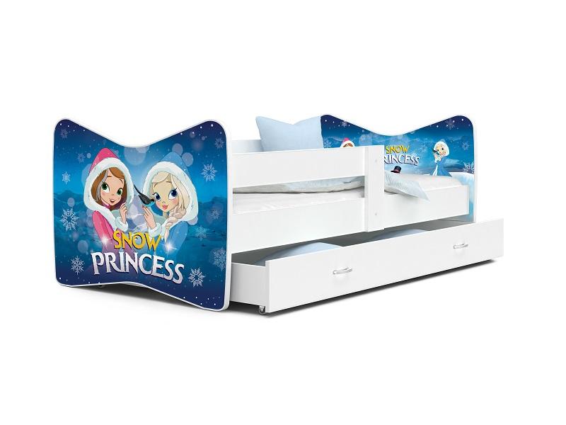 Patut Tineret MyKids Tomi 63 Snow Princess-160x80 imagine