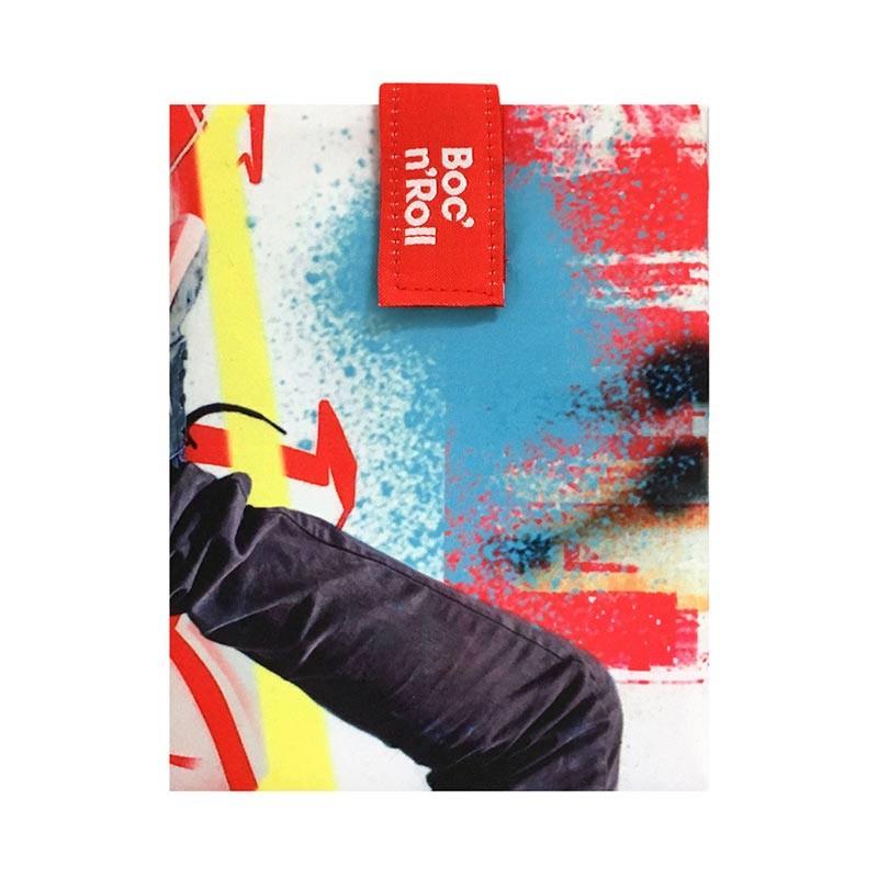 Boc'n'Roll Young SKATE, Ambalaj reutilizabil pentru sandwich imagine