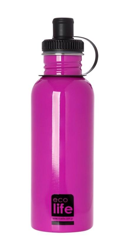 Sticla inox uni 600 ml, EcoLife imagine