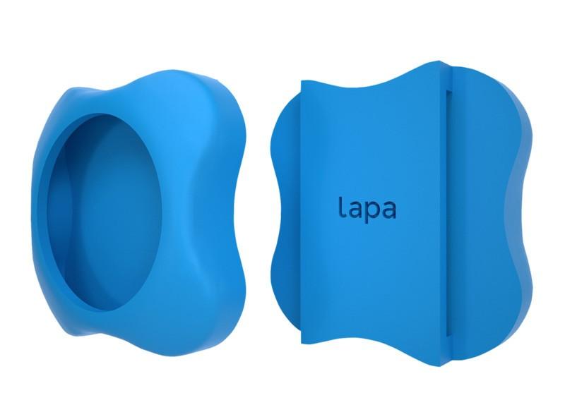 Suport din silicon pentru atasat la zgarda localizatorul bluetooth Lapa imagine