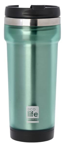 Termos cafea 420 ml (exterior plastic), EcoLife imagine