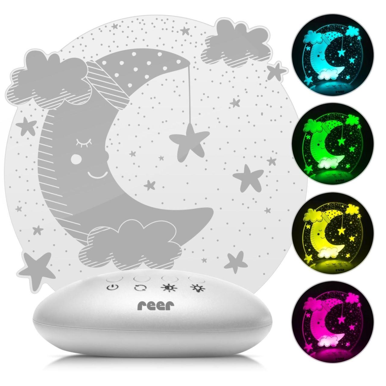 Lampa de veghe ColorLumy Moon Reer 52121