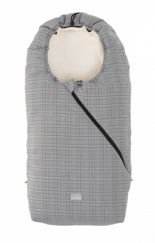 Nuvita Junior Pop sac de iarna 100cm - Prince of Wales / Beige - 9635 imagine