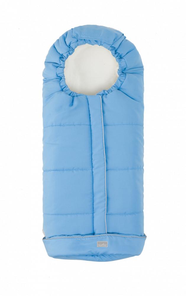 Nuvita Junior City sac de iarna 100 cm - Light Blue / Beige - 9545 imagine