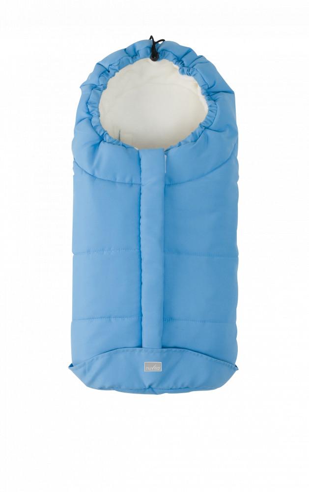 Nuvita Ovetto City sac de iarna 80cm - Light Blue / Beige - 9045 imagine