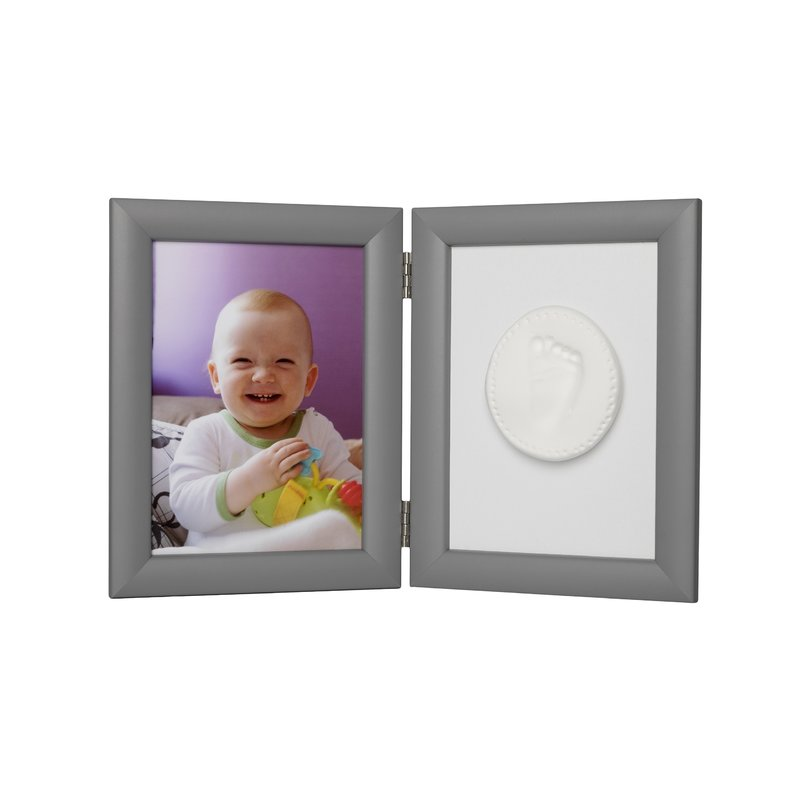 Baby HandPrint - Memory Frame Silver
