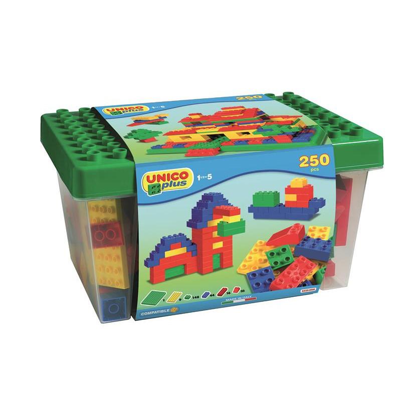 Joc de construit 250 piese Unico