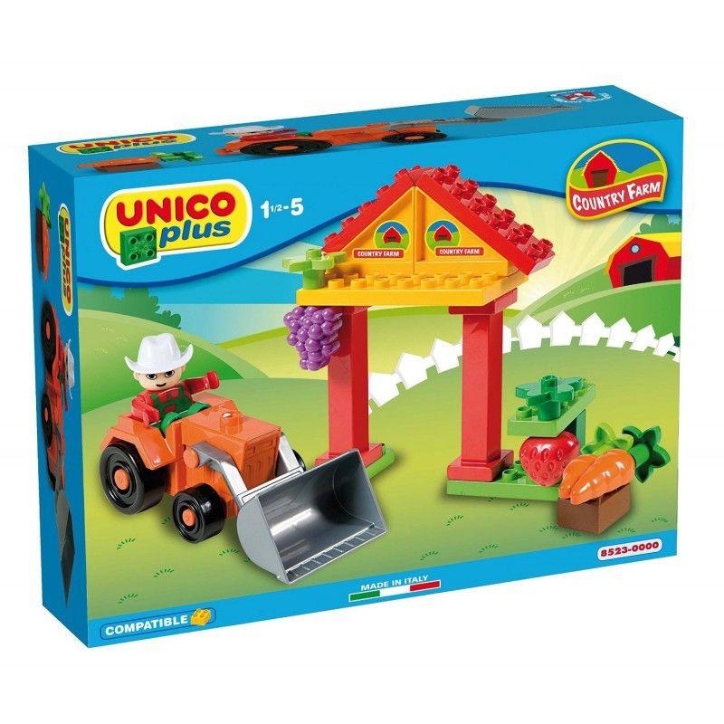 Joc de construit Unico Country Farm 21 piese AH