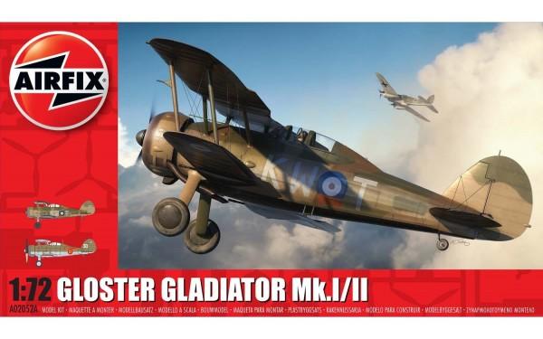 Kit constructie Airfix avion Gloster Gladiator Mk.I/Mk.II 1:72