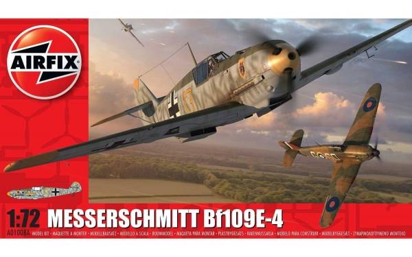 Kit constructie Airfix avion Messerschmitt Bf109E-4 1:72