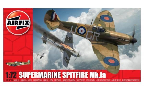 Kit constructie Airfix avion Supermarine Spitfire Mk.Ia 1:72