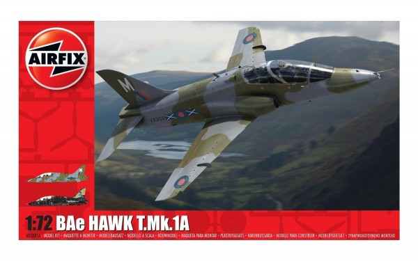 Kit cosntructie Airfix avion BAe Hawk T.Mk.1A 1:72