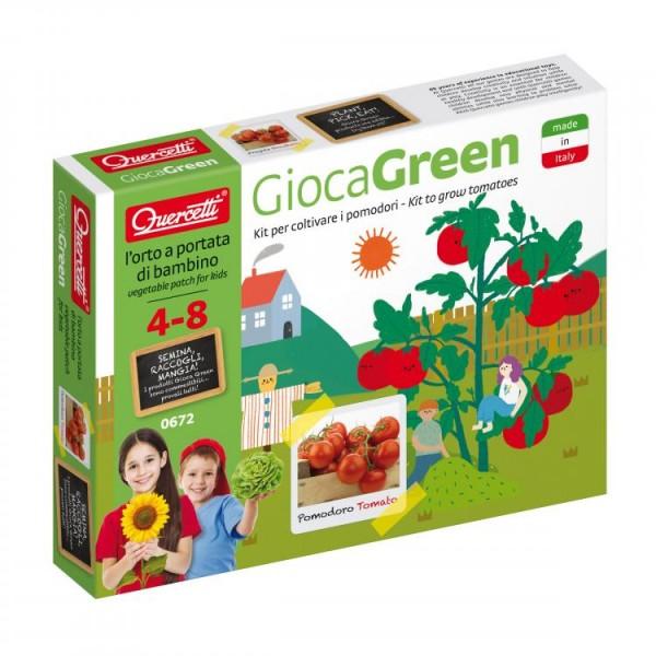 Set creativ pentru copii Cultivare Rosii Quercetti imagine