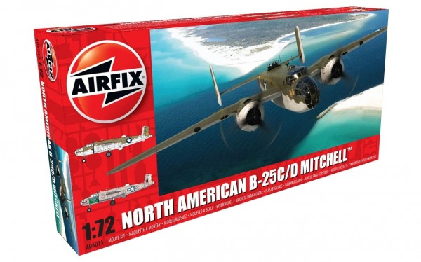Kit constructie Airfix avion North American B-25C/D Mitchell 1:72