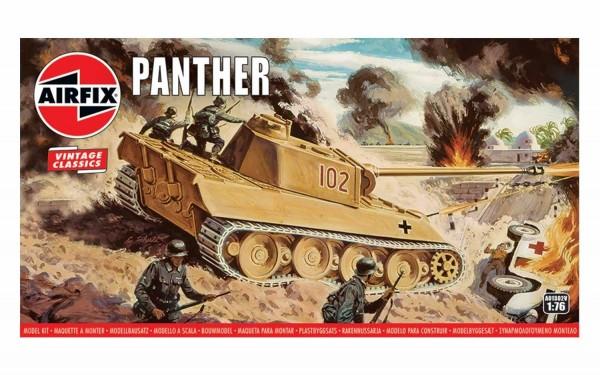 Kit constructie Airfix Tanc Vintage Classics - Panther Tank 1:76