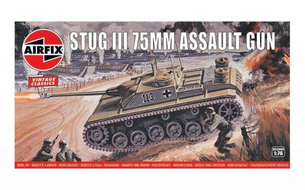 Kit constructie Airfix Vintage Classics - Stug III 75mm Assault Gun 1:76