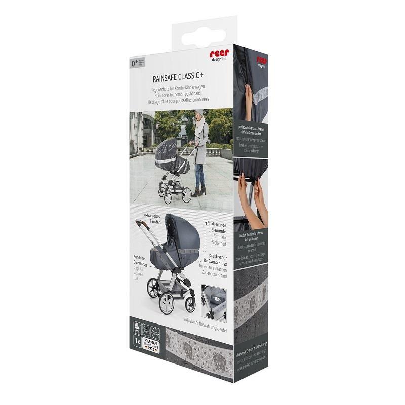 Protectie de ploaie universala cu fermoar pentru carucioare RainSafe Classic+ REER 84031 imagine
