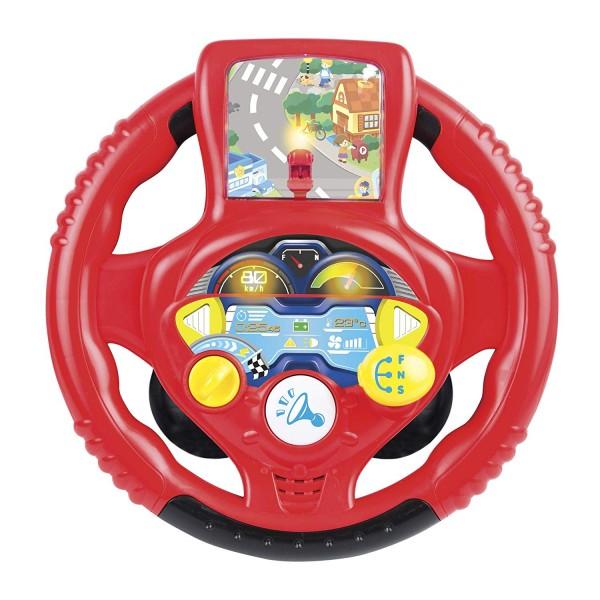Jucarie interactiva bebelusi Volan cu functii sunete si melodii imagine