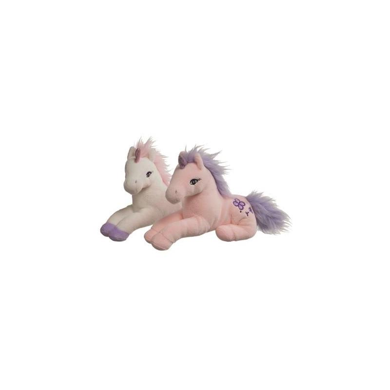 Jucarie plus unicorn , 23cm. 0L+, pink A Haberkorn imagine
