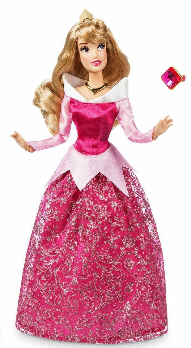 Papusa Printesa Disney Aurora cu inel