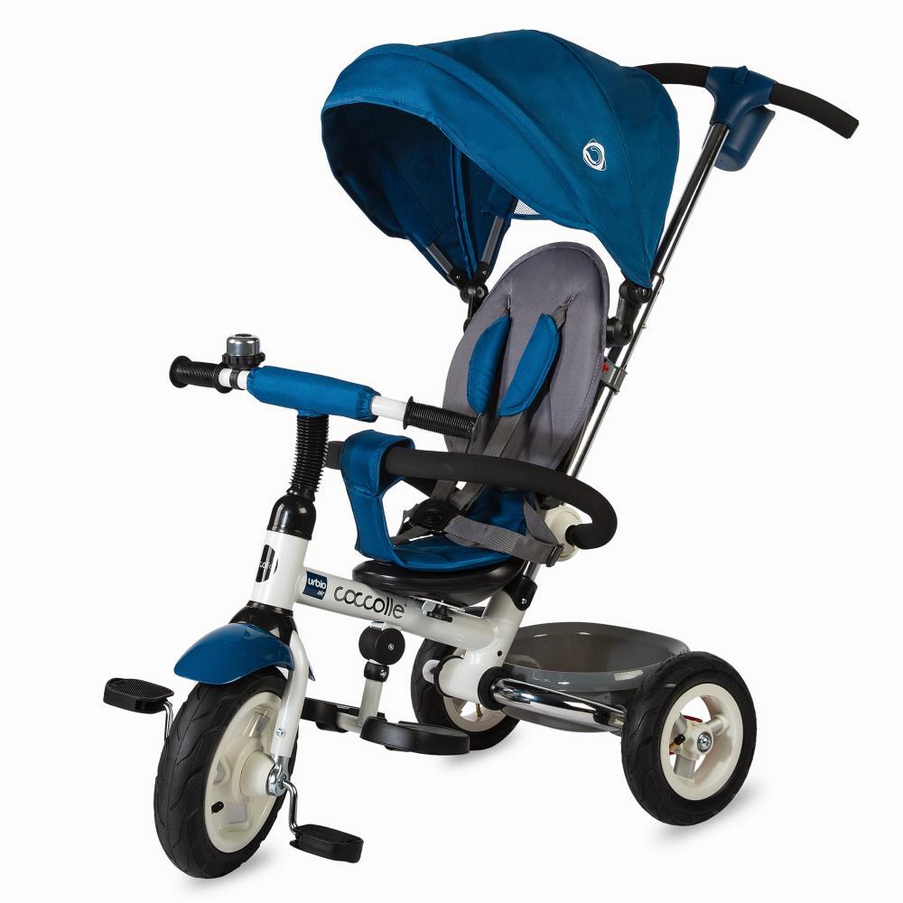 Tricicleta Coccolle Urbio Air Albastru imagine