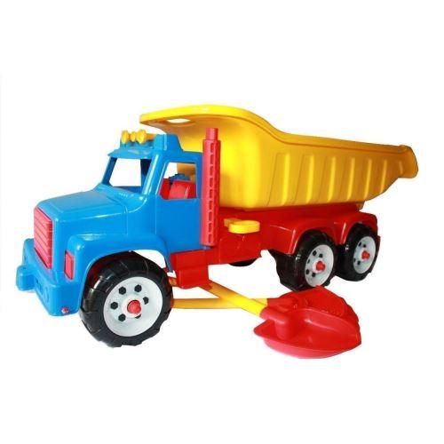 Camion Jumbo cu lopatica si grebla
