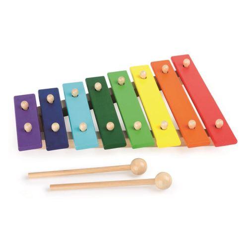Xilofon din lemn cu 8 note imagine