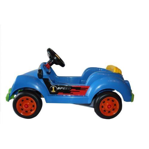 Masinuta cu pedale albastra