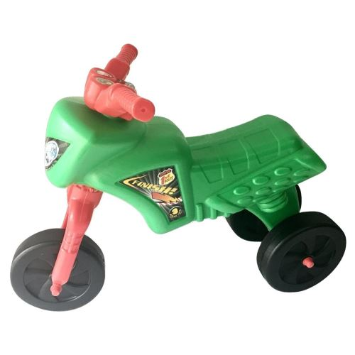 Tricicleta Super Cross fara pedale verde imagine