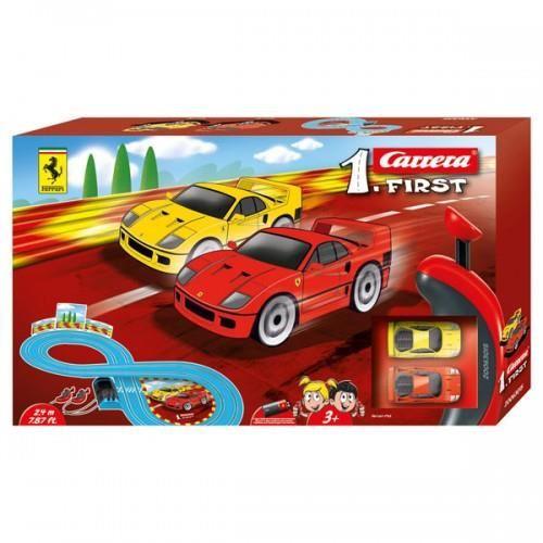 Carrera FIRST Slot Set masinute si pista Ferrari 1:43