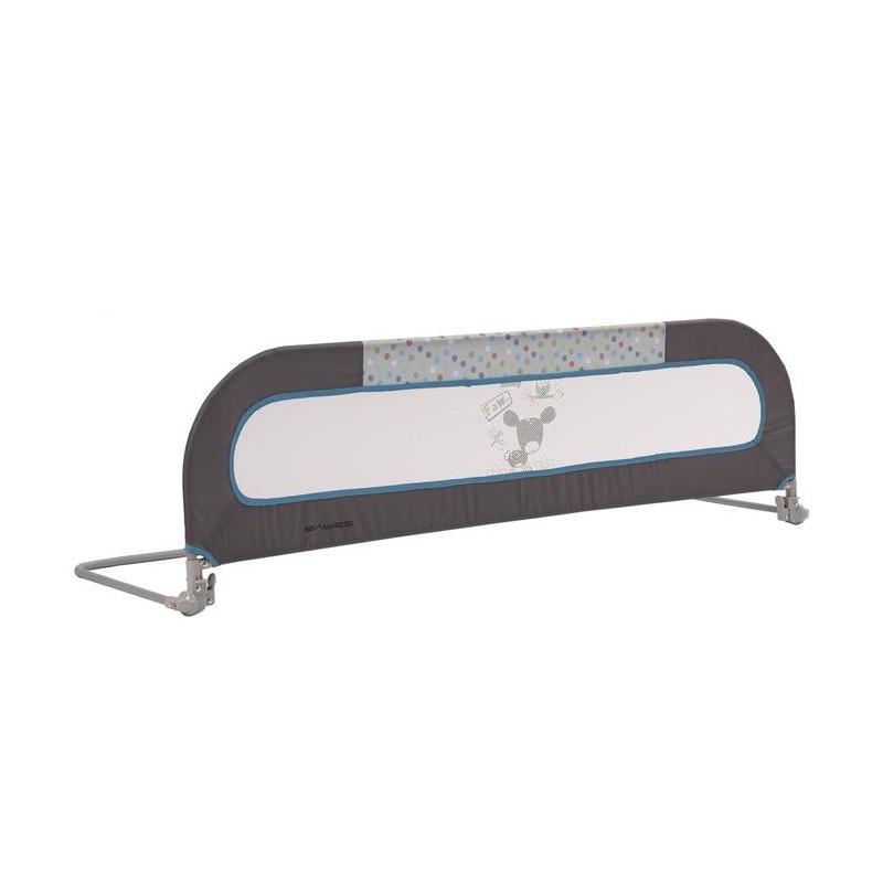 Siguranta metalica pentru pat blue grey 120 cm A.H. imagine