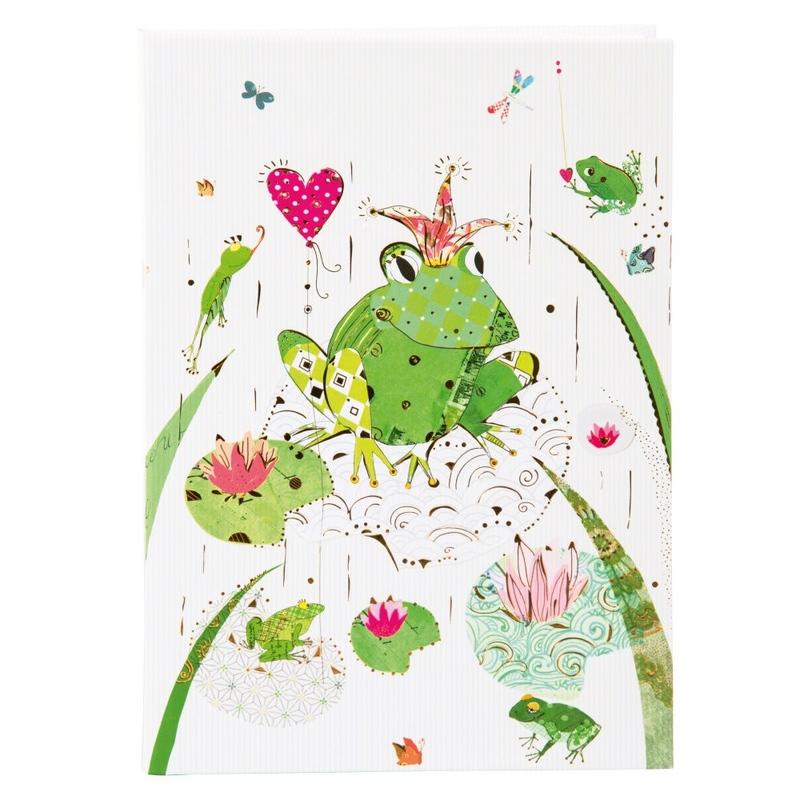 Agenda A5 embosata Frog imagine